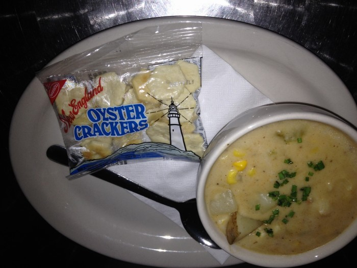 Clam Chowder al The Salty Pelican