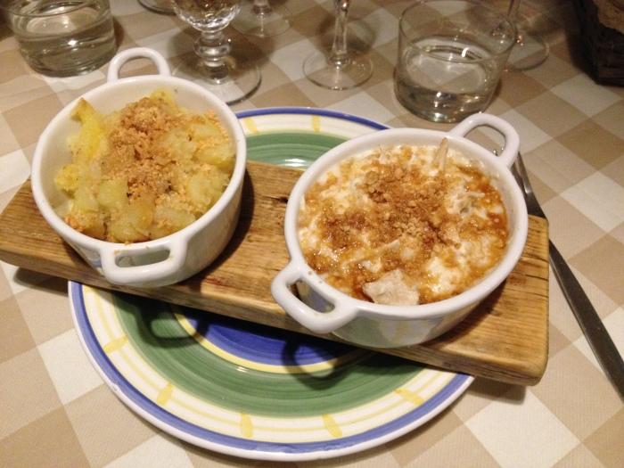 pollo al latte di cocco con patate alle arachidi