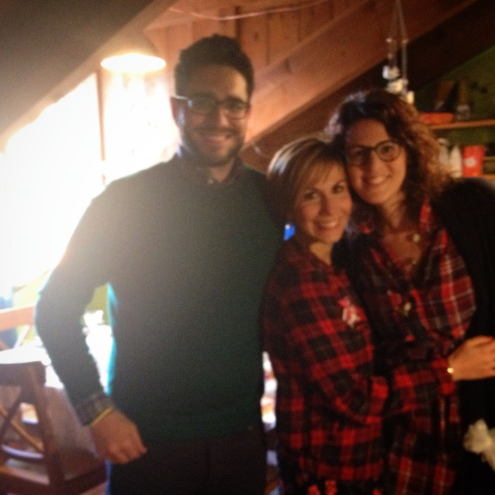 con Ilaria e Andrea