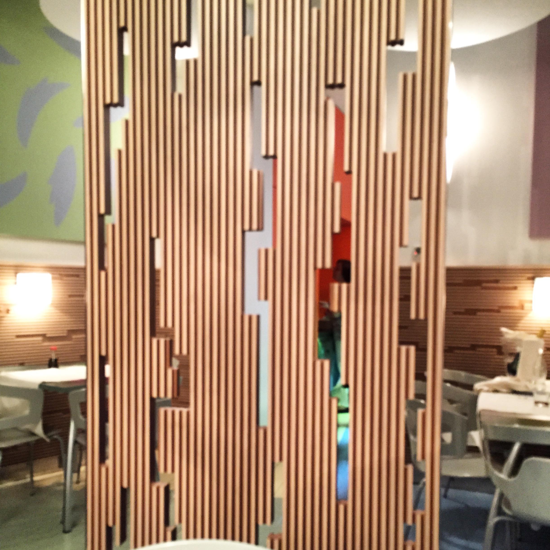 La collina d oro taste and travel for Separe in legno per interno