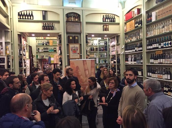 Enoteca Cotti durante la degustazione dei Vini Tedeschi lo scorso 19 Novembre